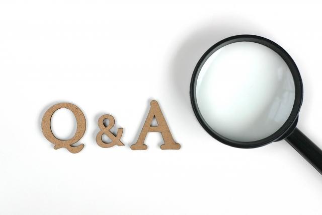 Q&Aの写真