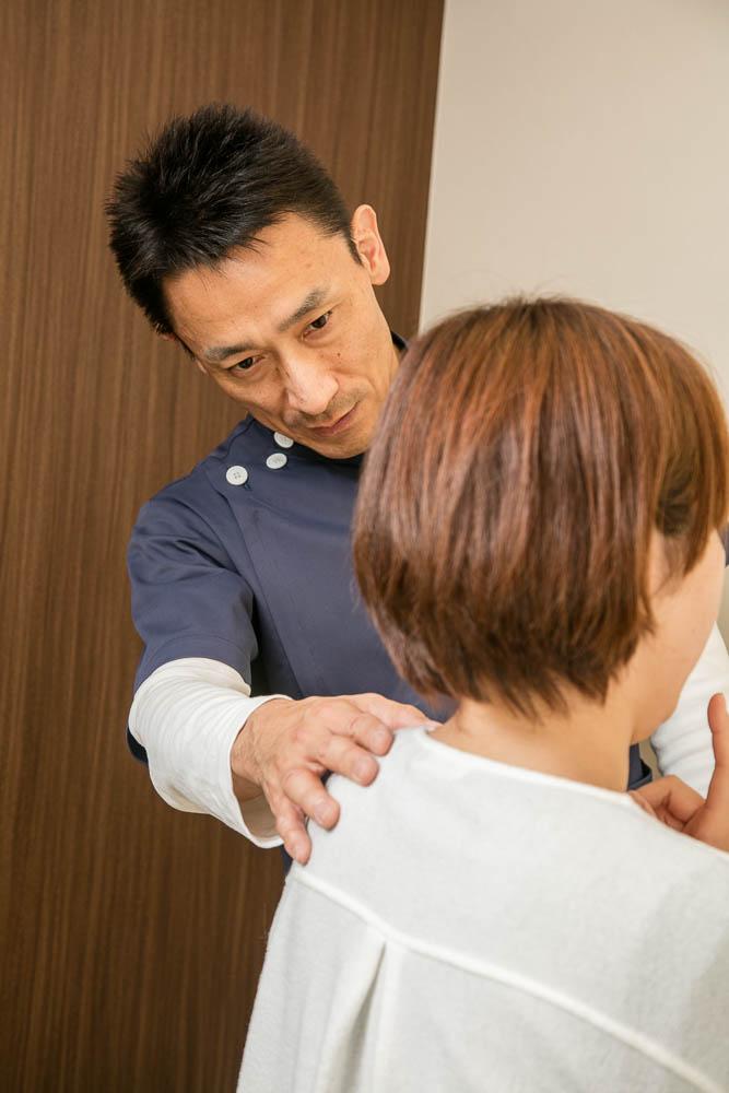頸椎の状態チェック
